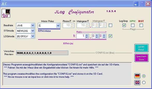 JLog Configurator JLC-I