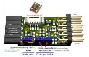 JLog2 - S.BUS2/I²C Adapterboard