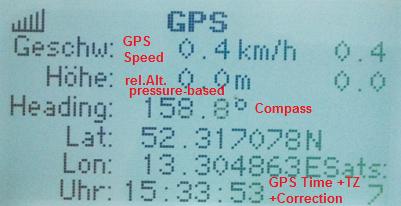 Display-GPS