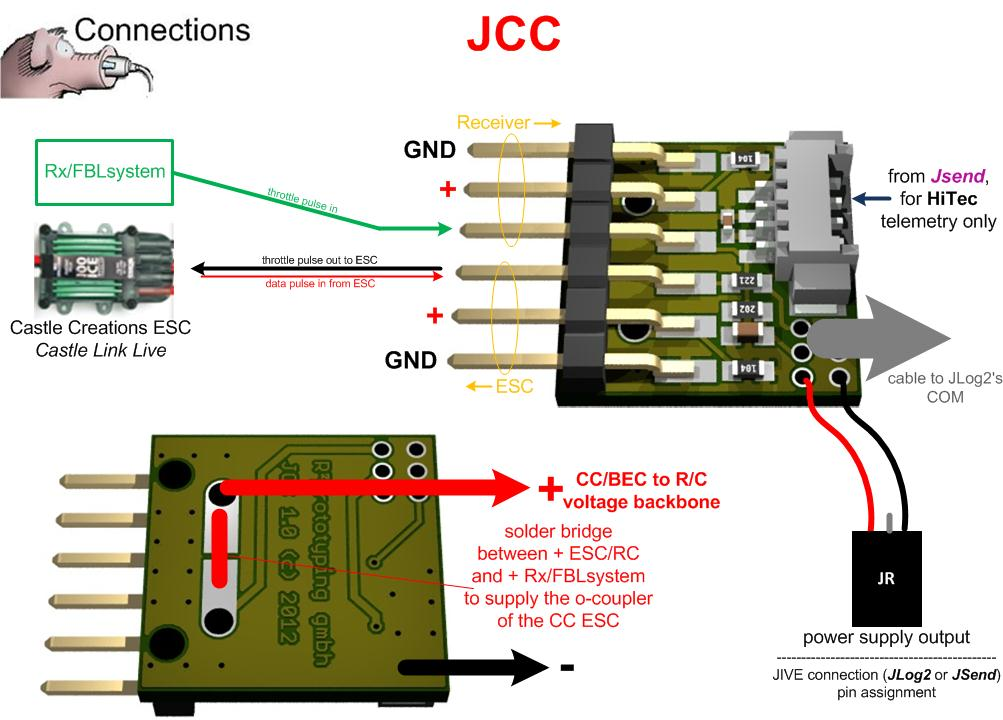 castle creations bec wiring diagram castle creations Old Mamba Max Pro without Sensor Wire Mamba Max Pro SCT